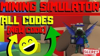 Roblox Mining Simulator: ALL CODES (Crazy New Codes)