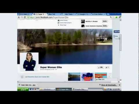 Adding Facebook Fan Page Tabs and Live Streams