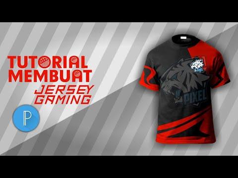 Tutorial membuat jersey gaming keren di PixelLab || TUTORIAL PIXELLAB ||  PART 1