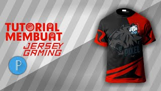 Tutorial membuat jersey gaming keren di PixelLab || TUTORIAL PIXELLAB ||  PART 1