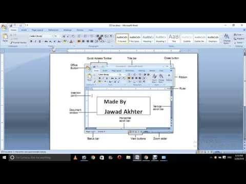 Ms office learn Full Course in 0ne Hours Hindi and Urdu