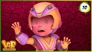 Vir: The Robot Boy | Vir In Dadaji's Brain | Action cartoons for Kids | 3D cartoons