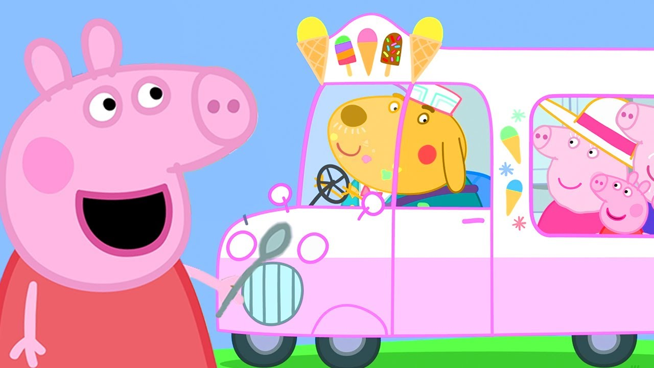 Peppa Pig Official Channel | Peppa Pig Runs an Ice Cream Van