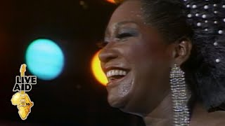 Patti LaBelle - Somewhere Over The Rainbow (Live Aid 1985)