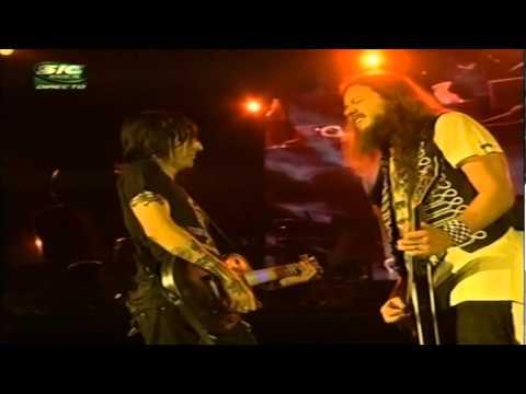 Guns N Roses - Finck, Fortus Guitar Instrumental Live Rock in Rio 2006 DVD Part 10