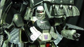 Sports Label MEGATRON: EmGo's Transformers Reviews N' Stuff