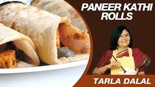 This Video Is Unavailable.     Paneer Tikka Kathi Roll Snack Recipe By Masterchef Tarla Dalal