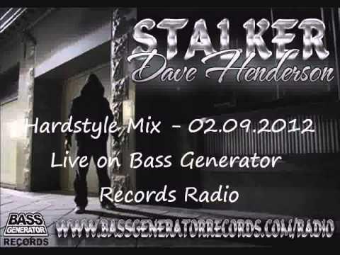 Dave Henderson - DJ Stalker Invasion Live on Bass Generator Records Radio