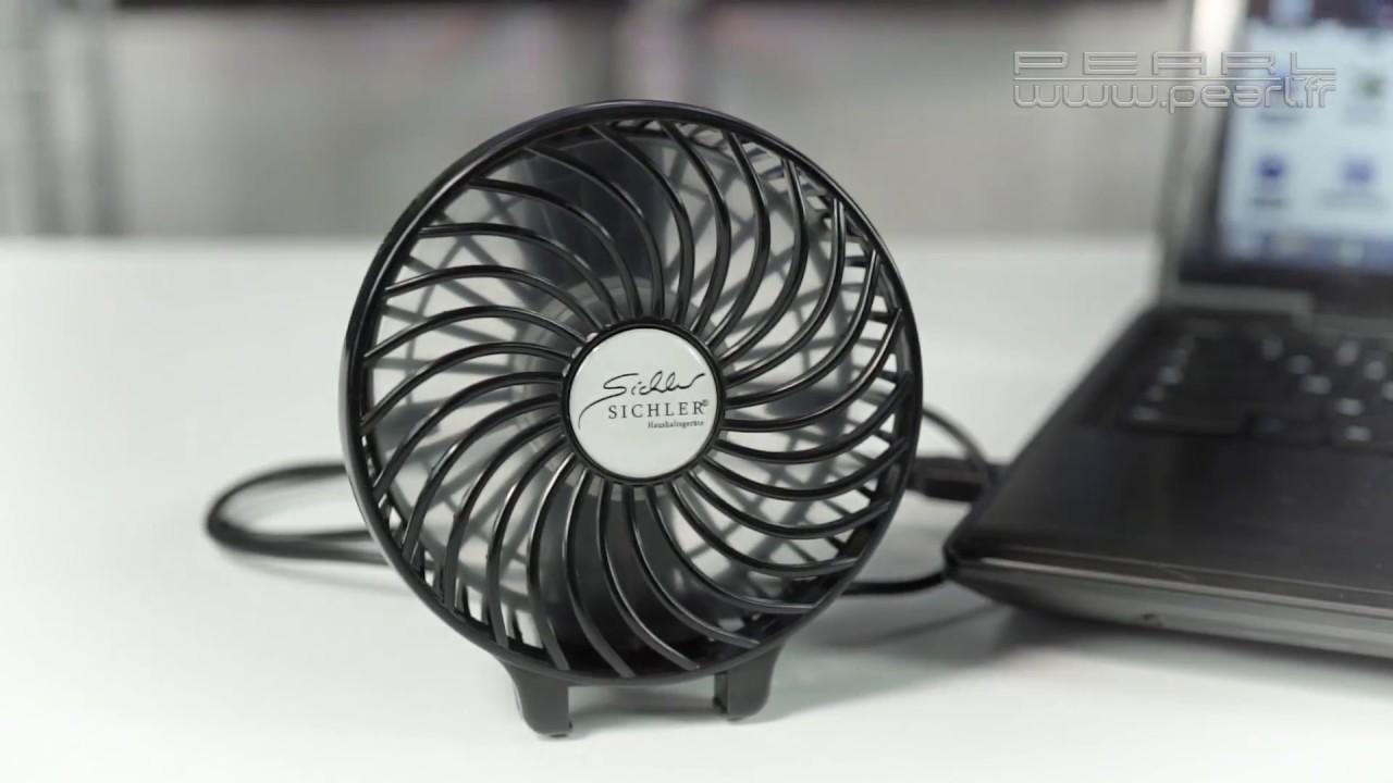 ventilateur nomade pliable garder dans la main ou poser sur le bureau pearltv fr youtube. Black Bedroom Furniture Sets. Home Design Ideas