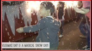 Vlogmas Day 9: A Magical Snow Day