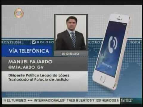 Trasladan a Leopoldo Lopez al palacio de Justicia