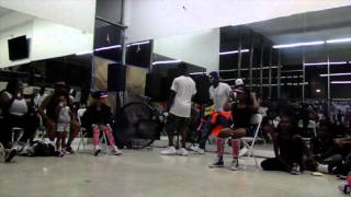divas of compton battle squad at tommy the clown freestyle fridays junior division ages 10 14