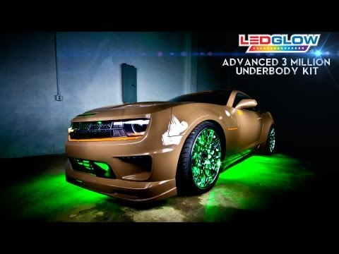 LEDGlow's Advanced 3 Million Color LED Underbody Kit