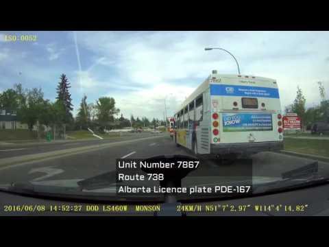 Calgary Transit bus driver fail