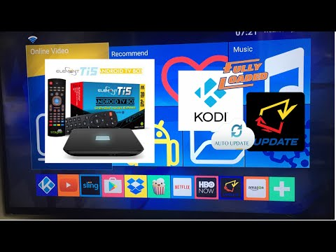 KodiElement Ti5 Android TV Fully Loaded Kodi Detailed Review