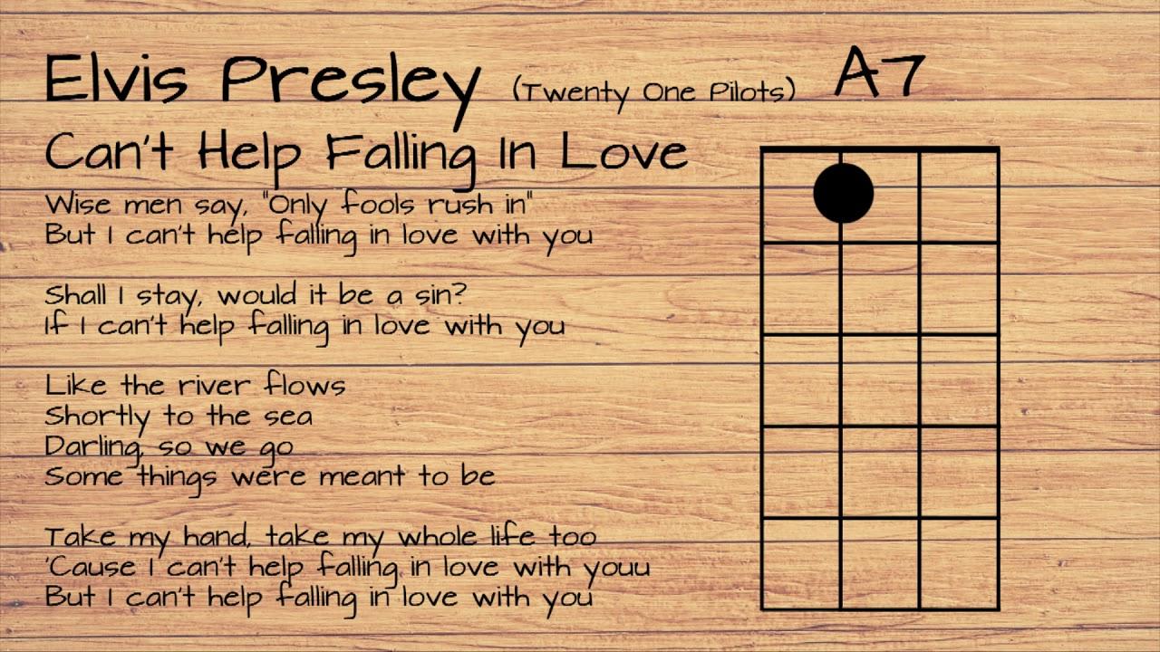 Elvis Presley Twenty One Pilots   Can't Help Falling In Love UKULELE  TUTORIAL W/ LYRICS