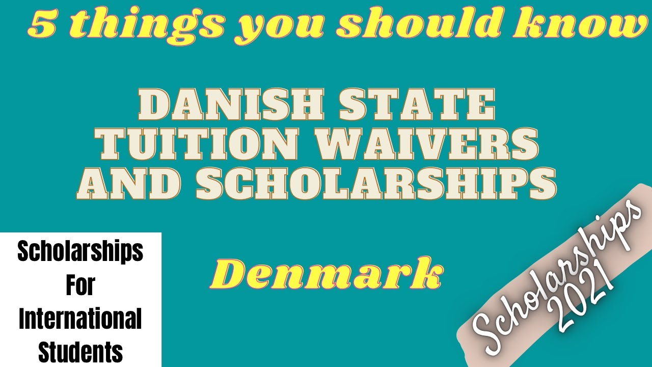 Danish State Tuition Fee Waivers and Scholarships | Scholarships for international students