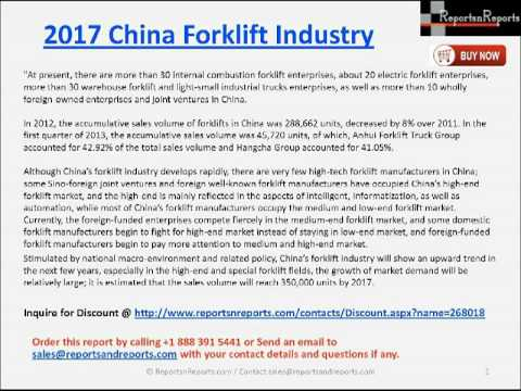 China Forklift Industry