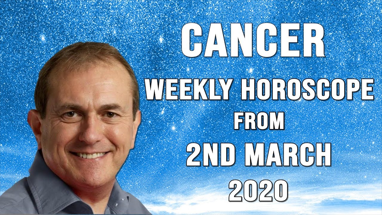 Weekly Horoscopes from 2nd March 2020
