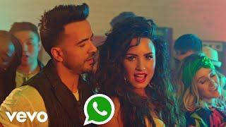 Luis Fonsi Demi Lovato chame La Culpa whatsapp status, whatsapp status.mp3