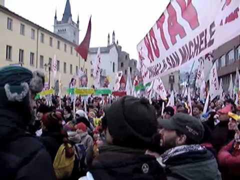 Susa 23/1/2010 - Quarantamila No Tav, Quattro Gatti Per Chiamparino
