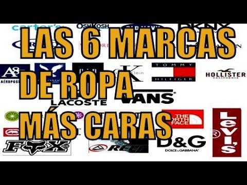 LAS 6 MARCAS DE ROPA MÁS CARAS DEL MUNDO - YouTube 1a9a6f40a6b