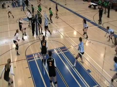 Lindsey Nelson (OH/MH), Volleyball Skills Highlights - Class of 2012