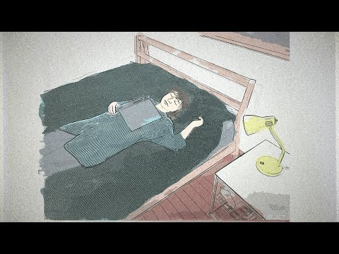Lullatone - falling asleep with a book on your chest (piano version)