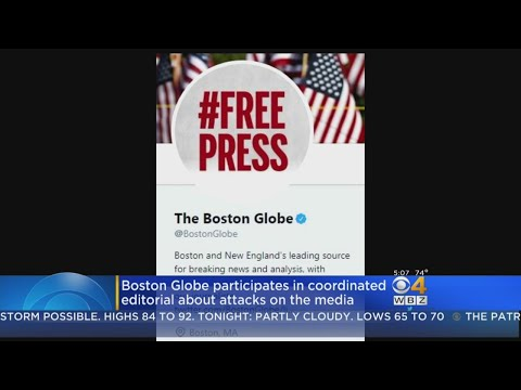 Boston Globe Participates In Coordinated Editorial About Trump's Attacks On Media