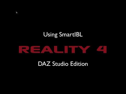 Using SmartIBL with Reality 4 - DAZ Studio Edition