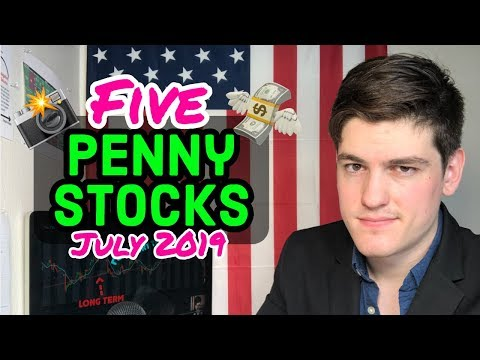 5 Top Penny Stocks To Buy🚀| July 2019