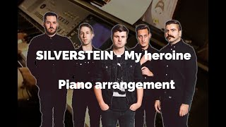 """Silverstein - """"My heroine"""" Piano cover (2)"""