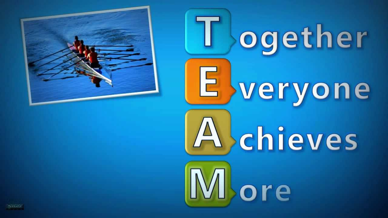 The meaning of TEAM. Together Everyone Achieves More ! 2.0 (Enhanced ... Octopus Blunt