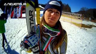 Sci Alpino Campionati Italiani 2015 - Tarvisio - Intervista a Nadia Fanchini