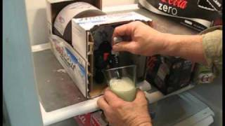 Opening Coors Light Home Draft Container