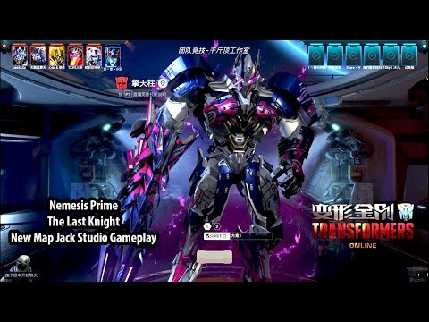 TRANSFORMERS Online 变形金刚 - Nemesis Prime The Last Knight Skin New Map Jack Studio Gameplay