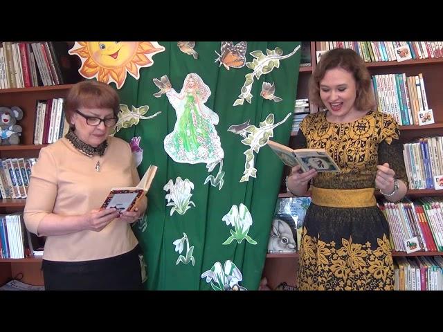 Изображение предпросмотра прочтения – «Коллектив Библиотеки г.п. Талинка» читает произведение «Весной» Е.А.Баратынского
