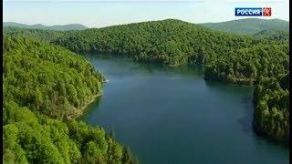 Плитвицкие озёра. Водный край и национальный парк Хорватии.