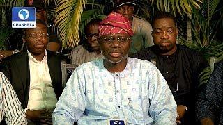 Lagos APC Primaries: Sanwo-Olu Thanks Ambode For 'A Good Fight'