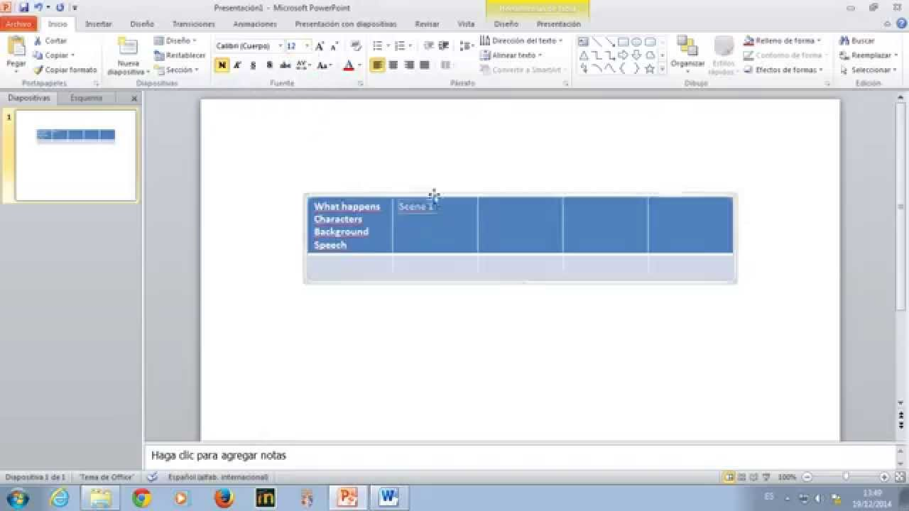 How To Make A Storyboard In Powerpoint Youtube