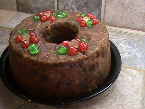 Old Fashioned Rum Fruit Cake Recipe