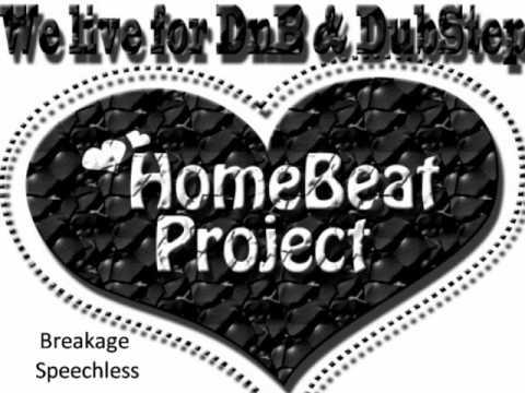 Breakage - Speechless ft. Donae O +lyrics [HomeBeatProject]