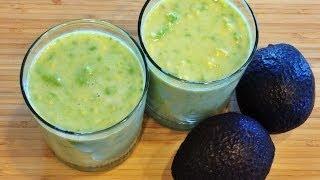 Avocado Milkshake W/o Blender 牛油果奶昔
