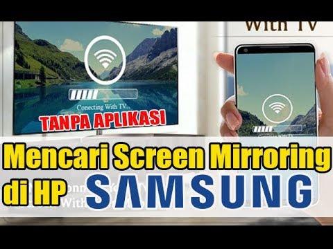 Daftar 10 HP Samsung Yang Support ( Screen Mirroring ) ➕ Cara Menghubungkannya Ke TV ( Tanpa Kabel ).
