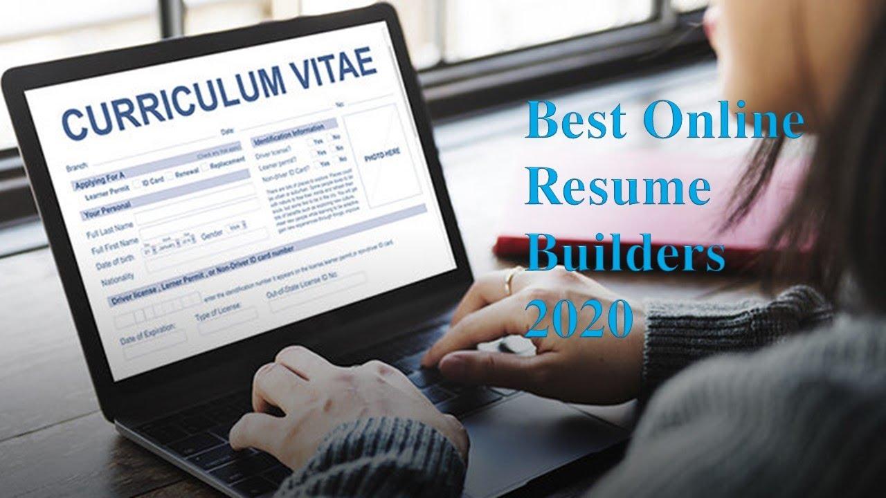 Best Online Resume Builders 2020 Amazing World Youtube