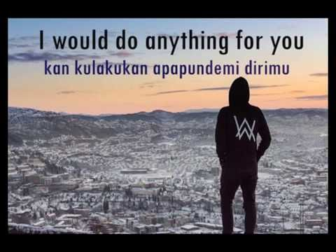 lirik dan terjemahan sing me to sleep - Alan Walker