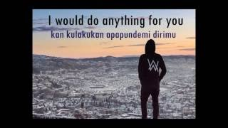 lirik dan terjemahan sing me to sleep - Alan Walker