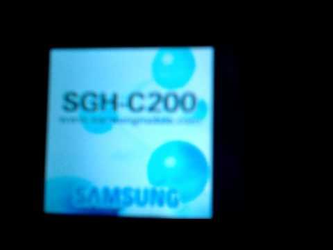 Samsung SGH-C200 Startup/Shutdown Animation
