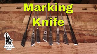 Woodworkers marking knife