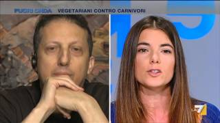 Repeat youtube video Fuori Onda - Vegetariani contro carnivori (Puntata 27/03/2016)